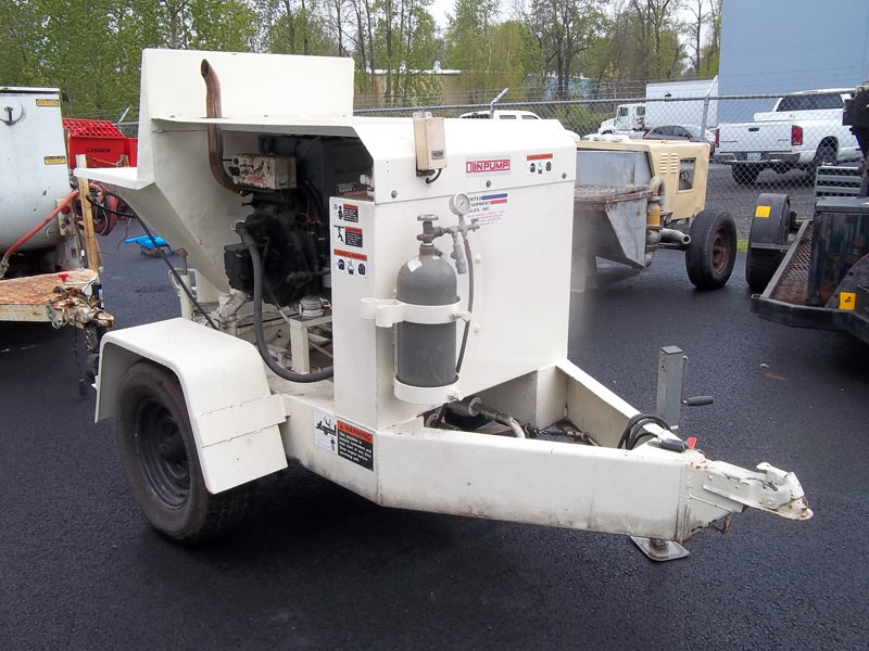Used Olin Concrete Pump Manufacturer in Portland United States by