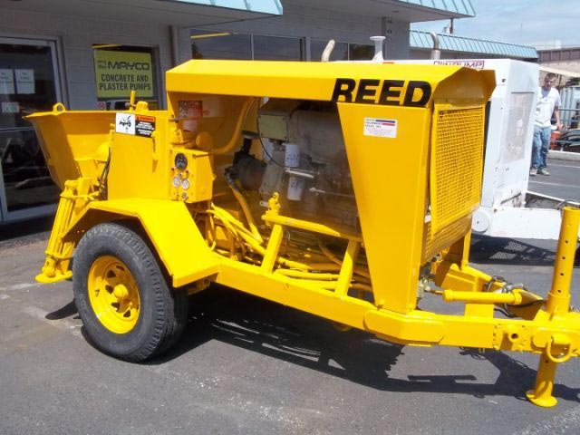 Used Reed Concrete Pump Manufacturer in Portland United States by