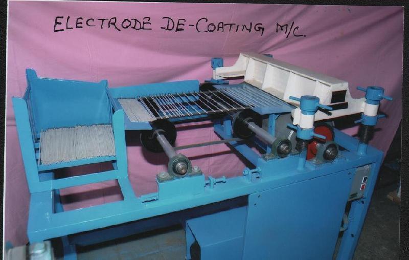 Flux De-Coating Machine