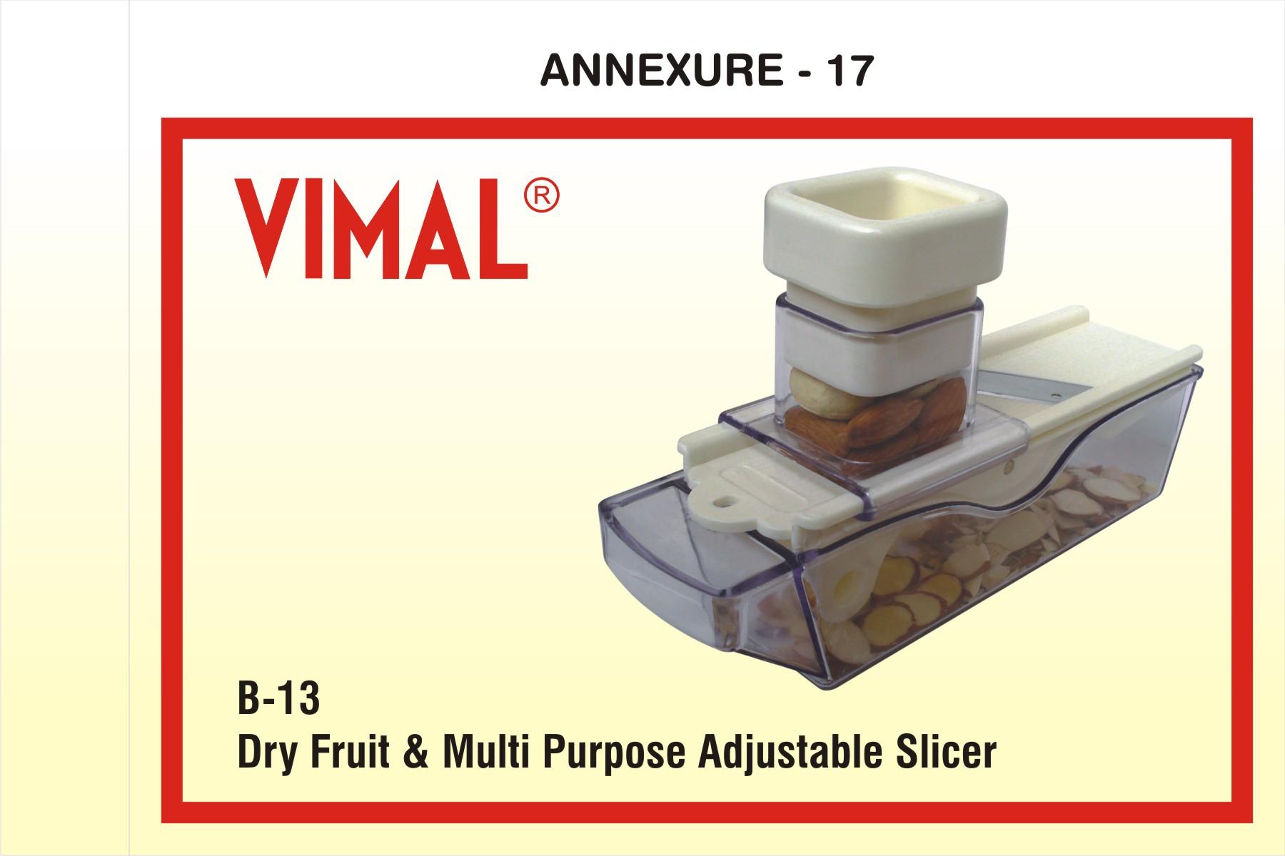 dry fruit multi purpose adjustable slicer 658018 dry fruit & multi purpose adjustable slicer manufacturer in rajkot