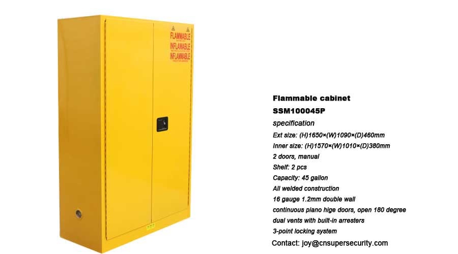 Buy Chemical Flammable Storage Cabinet From Super Co Ltd China