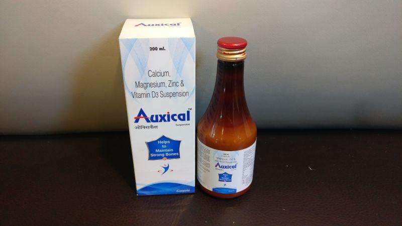 Calcium Zinc Magnesium Vitamin D3 Syrup