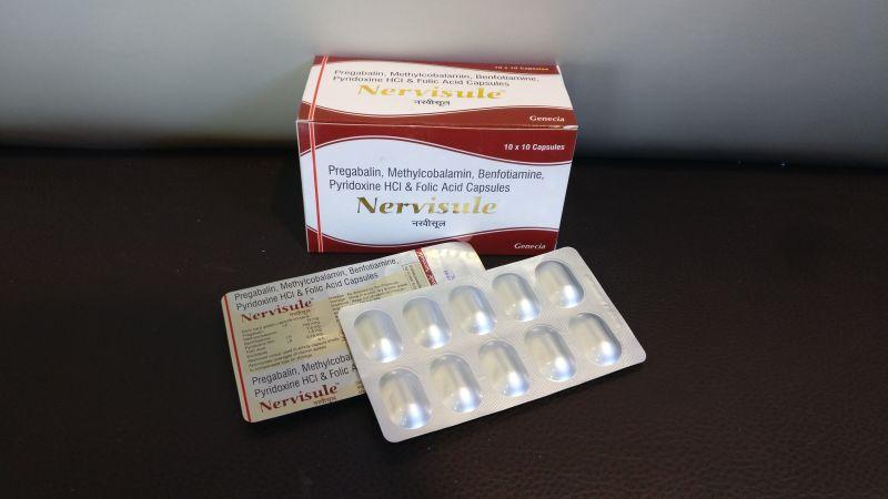 Pregabalin Methylcobalamin Folic Acid Capsules