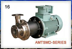 MAGNETIC DRIVEN SS PUMP