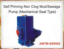 Self Priming Non Clog Mud Pump