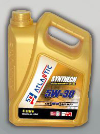 Atlantic 5W-30 Synthetic Engine Oil