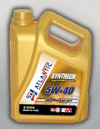 Atlantic 5w40 Synthetic Engine Oil