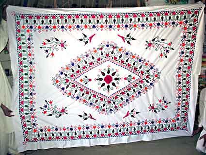 Bed Cover Heavy Dabka