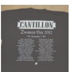 Cantillon Zwanze t-shirt