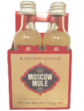 Crafthouse Moscow Mule 4pk cocktail