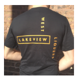 West Lakeview Liquors Logo T-Shirt