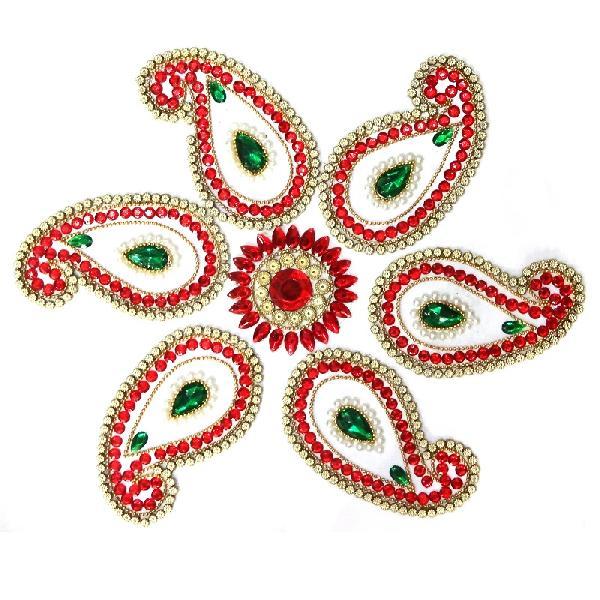 Handmade Kundan  Rangoli