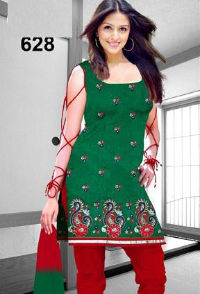 Ladies Sleeveless Churidar Suits Manufacturer in Meerut Uttar ... 50ec0a517