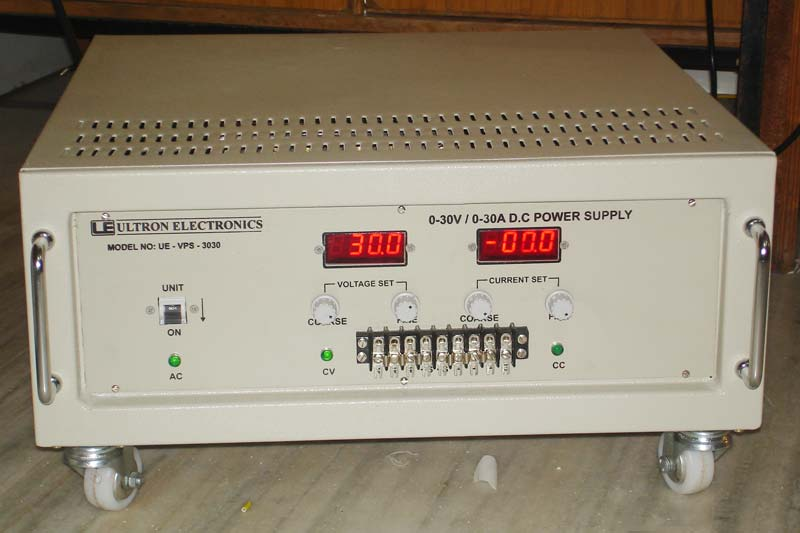 Buy 0-30V/0-30A VARIABLE DC POWER SUPPLY from Ultron