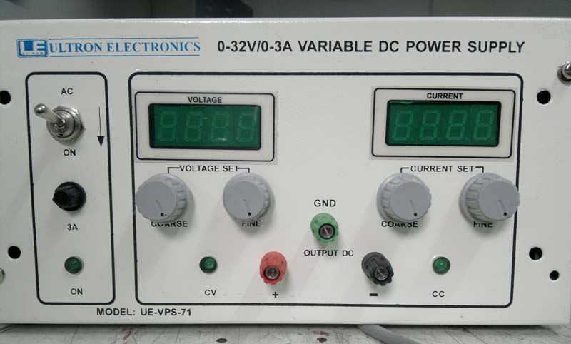 Buy 0-32V/0-3A VARIABLE DC POWER SUPPLY from Ultron