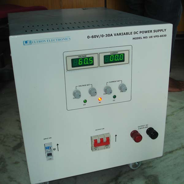 Buy 0-60V/0-30A VARIABLE DC POWER SUPPLY from Ultron