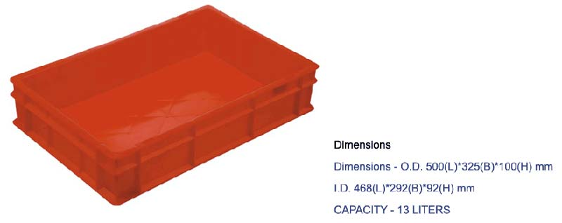 Plastic Crates Series (500-325)