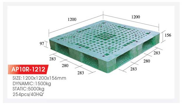 Plastic Reversible Pallets