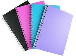 A4 Size Spiral Notebooks