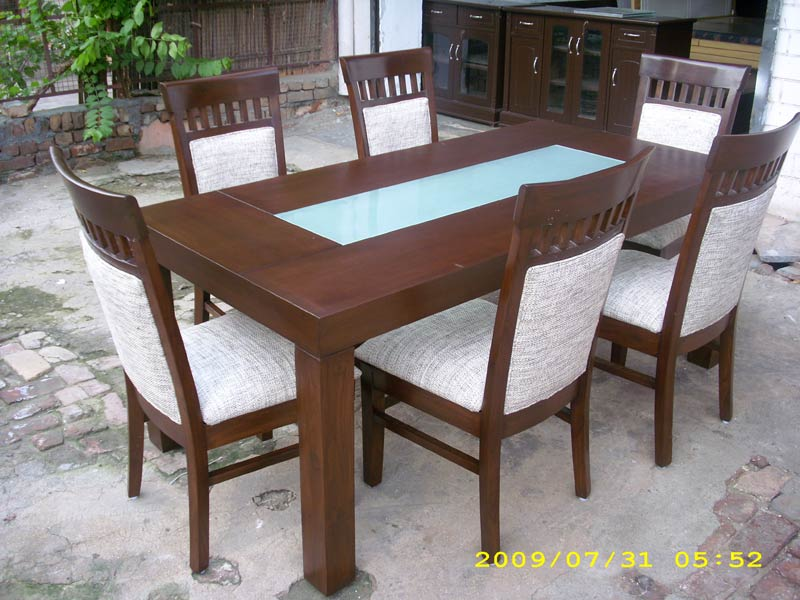 Wooden Dining Table Set Manufacturer inFaridabad Haryana