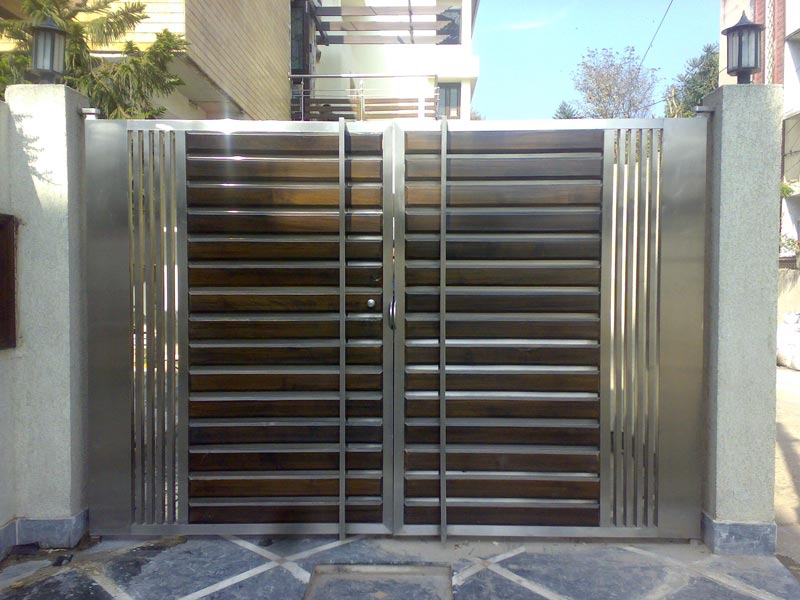 Buy stainless steel gates from s m engineerings india