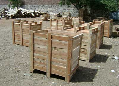 Wooden Storage Boxes (WB-080)