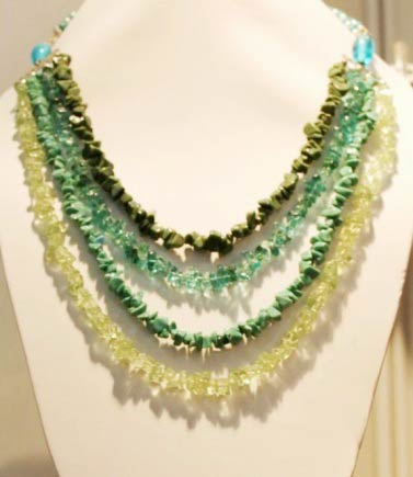 clothing in knot s semiprecious sliding file product amazonite dottie jasper is or with to available semi the beaded precious a necklace page length women change mimi