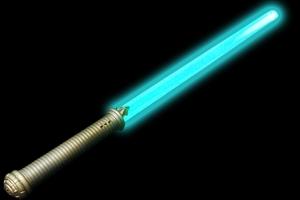 Blue LED Sword