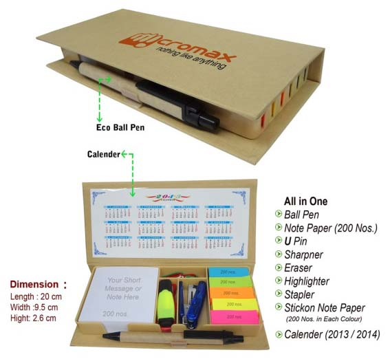 Eco Friendly Stationery Products