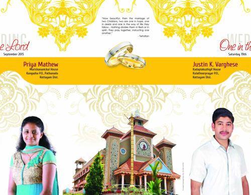 Services Wedding Card Designing Printing From Kottayam Kerala