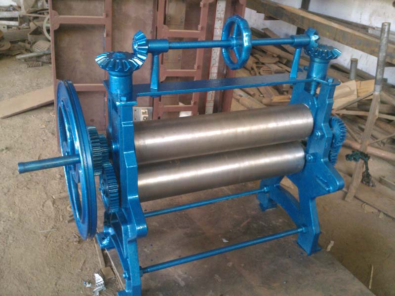 Buy Hand Operated Natural Rubber Roller Machine From Spa