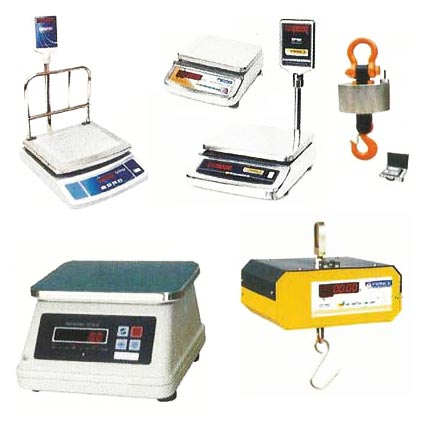 Electronic Weighing Scales Manufacturer by Saraf