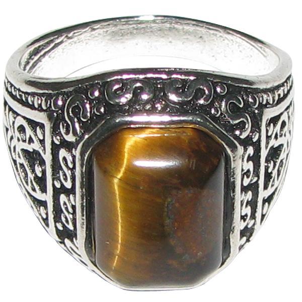 tiger eye antique designer ring natural gem a4476 manufacturer in