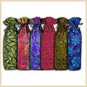 Juteberry Designer Cotton Wine Bags (ASQ-002)