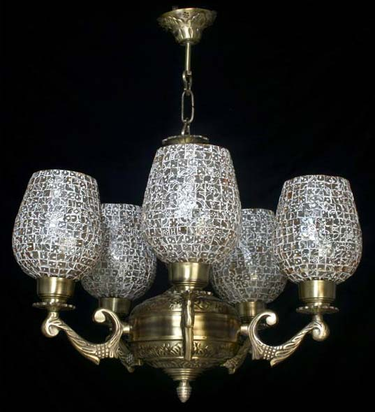 Crystal Chandelier Online India: Buy Glass Chandelier From Sharda Lighting Company