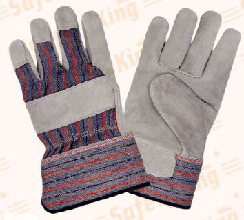 Leather Safety Gloves (Leather Safety Glove)