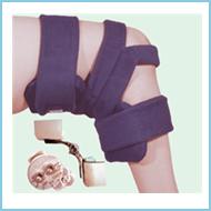 Lower Extremity :Spring Loaded Goniometer Knee Orthosis