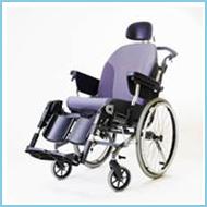 Medical Equipment Comfort Tilt Padded Wheelchair