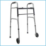 Medical Equipment Foldable Walker with Wheels