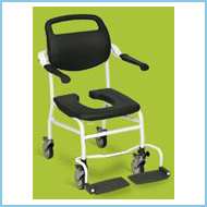 Medical Equipment Mobile shower/toilet chair