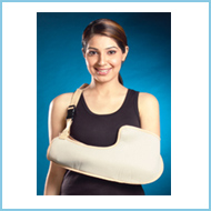 Upper Extremity :Pouch arm sling
