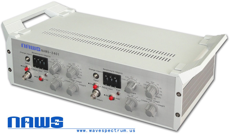 Two Channels Charge Conditioning Amplifier (Two Channels Charge)
