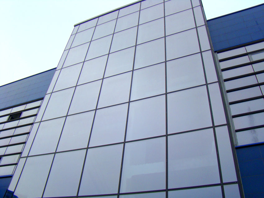 Services Acp Sheet Glazing Service In Offered By Cosmos
