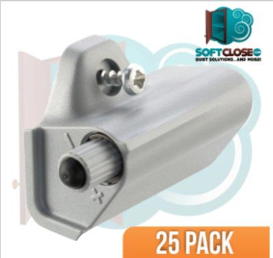 25 Pack Titus Soft Close Cabinet Door Damper