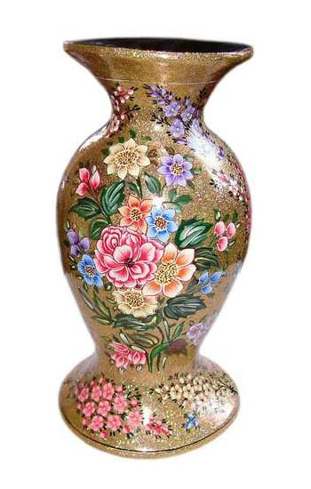 Buy paper mache flower vase 04 from qasim and sons srinagar india paper mache flower vase 04 mightylinksfo