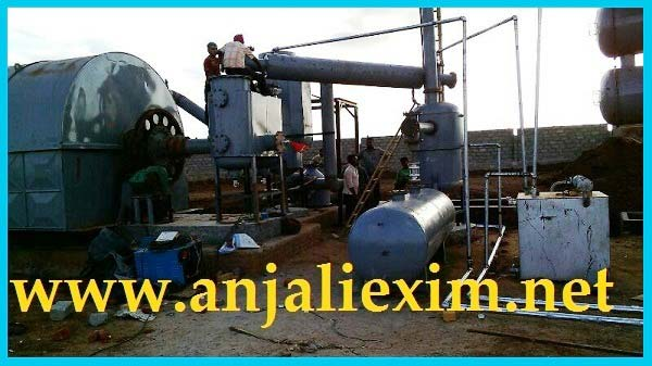Buy Tyre Pyrolysis Plant Suppliers from Anjali Exim, Surat