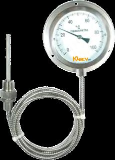 Stainless Steel Capillary Gauge