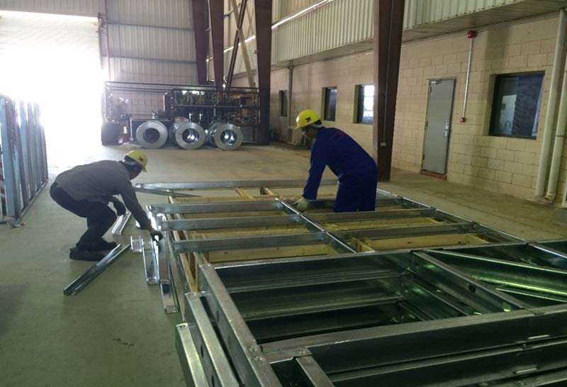 Tower Fabrication Services : Services pre engineered steel building fabrication from