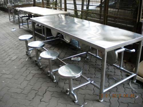 Steel Canteen Table Manufacturer In Maharashtra India By