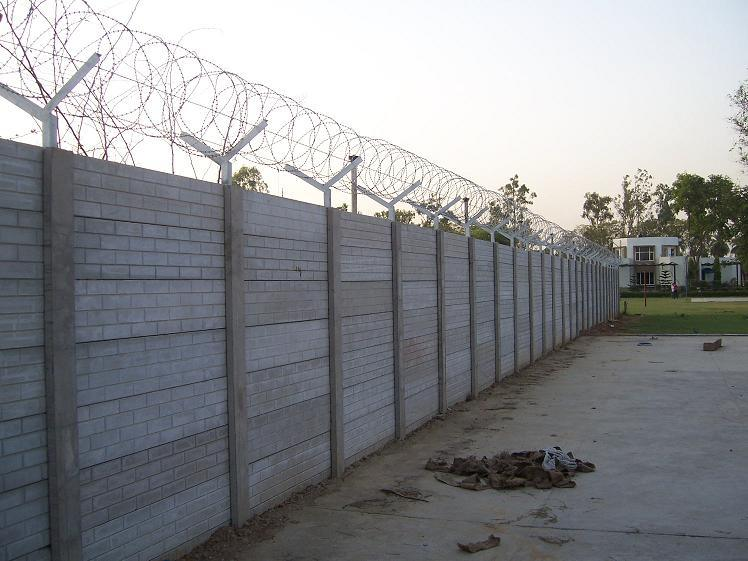 Villa Boundary Wall Design : Buy r c precast boundary wall from alam enterprises